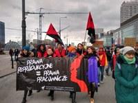 [PL+EN] Prawa reprodukcyjne są prawami pracowniczymi!  Z pozdrowieniami dla strajkujących w Polsce.