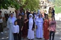 Presseerklärung der Gewerkschaft FAU:  Besuch beim Oberhaupt der Êzîd*innen und im Flüchtlingslager Sheikhan