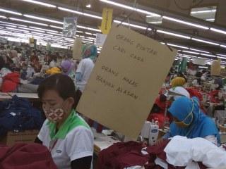 GewerkschaftsTour - Nähfabriken in Asien