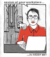 Sexismus am Arbeitsplatz ...ist niemals OK