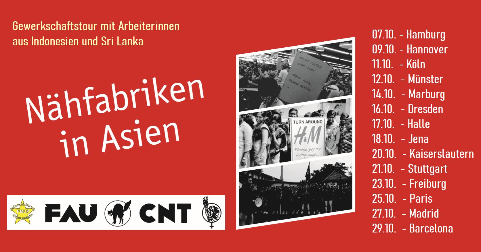 Banner GewerkschaftsTour 2019