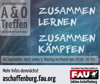 Gewerkschaftliches A&O-Treffen ab September 2021