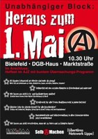 """Aufruf zur Demonstration: """"Heraus zum 1.Mai!"""""""