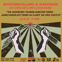 """Online-Buchvorstellung: """"Die modernen Wanderarbeiter*innen – Arbeitsmigrant*innen im Kampf um ihre Rechte"""""""
