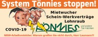 Demo: System Tönnies stoppen!