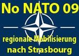 NoNato-Bus von Frankfurt nach Straßburg