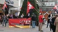 Stadtrundgang und Kundgebungen in Mainz - Leiharbeit abschaffen!