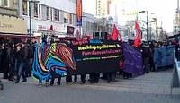 Offenbach:Erfolgreiche antifaschistische Demonstration gegen reaktionäre Bewegungen