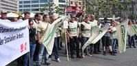 Soli-Kundgebung bei den GDL Streikposten