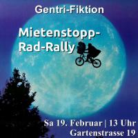 2. Mietenstopp-Rad-Rallye | 19.2. | 13 Uhr | Gartenstrasse 19