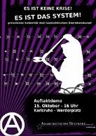 Es ist keine Krise! Es ist das System!   15.10.2011   Karlsruhe