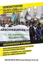 Asylrechtsverschärfung verhindern – Winterabschiebestopp sofort!