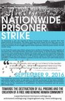 Solikundgebung zum Streik- und Aktionstags der US-amerikanischen Gefangenen