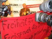 Besuch bei der PDS am 24.10 - Solidarität für Carsten, Marco und Daniel!