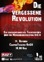 [Beginn 19.30] Nö Theater: Die vergessene Revolution
