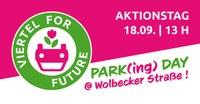 """""""Parking Day"""" in der Wolbecker Straße - Sprechstunde und Vollversammlung der FAU Müsnter"""