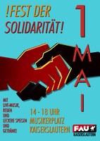 1. Mai – Fest der Solidarität