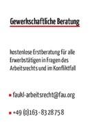 FAU Kaiserslautern startet gewerkschaftliche Beratung