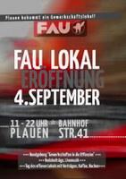 Eröffnung des FAU-Lokals